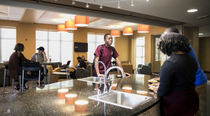EKU offers state-of-the-art housing with gorgeous common areas.